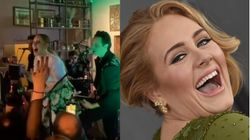 Adele Brings Down The House At Best Friend's Wedding With Rare
