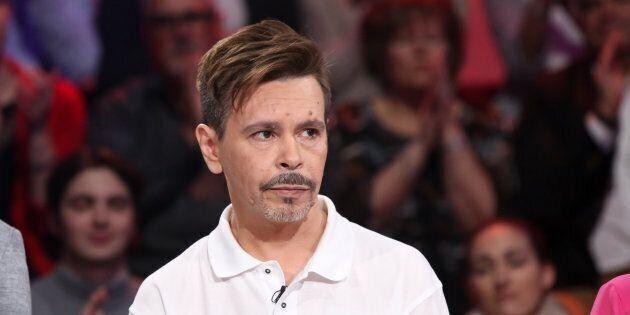 Donald Duguay, la présumée victime d'Éric Salvail, lors de son passage à l'émission Tout le monde en parle en mars 2019.
