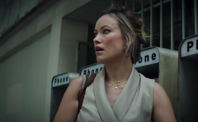 Olivia Wilde dans le rôle de la journaliste de l'AJC Kathy
