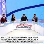 Risto expulsa a Girauta de 'Todo es mentira':