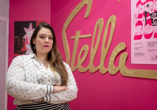 Sandra Wesley, the head of Stella, a Montreal-based organization run by and for sex workers, is pictured...