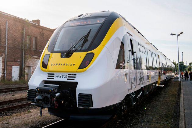 Plusieurs pièces des trains de Bombardier sont fabriquées en Allemagne. (photo