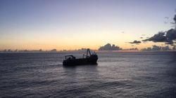 Πλοίο-φάντασμα κατέληξε σε ακτή της