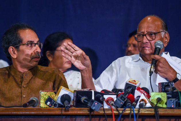 Shiv Sena Chief and Maharashtra CM Uddhav Thackeray and Nationalist Congress Party (NCP) Chief Sharad
