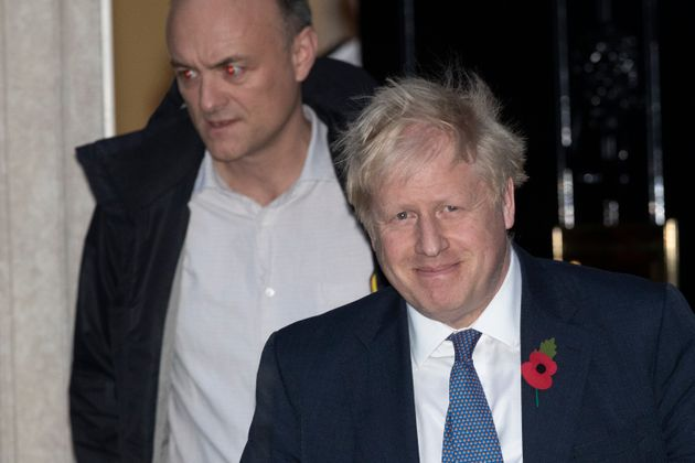 Boris Johnson and Dominic Cummings in