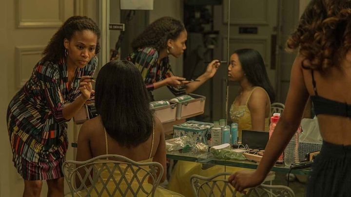 """Nicole Beharie (left) and Alexis Chikaeze in """"Miss Juneteenth,"""" which premiered at the Sundance Film Festival."""