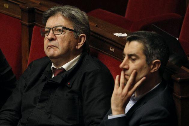 La motion référendaire, initiée par La France Insoumise de Jean-Luc Mélenchon (ici à l'Assemblée le 28...