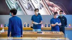 新型コロナで中国のiPhone生産滞る アップル売上見通しを達成できず