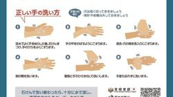 新型コロナ、感染を予防する正しい手洗いの仕方は?