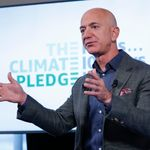 アマゾンのベゾス氏、気候変動対策に1兆円を寄付へ