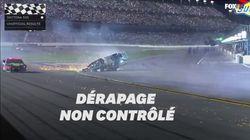 La course du Daytona 500 s'est terminée par un accident