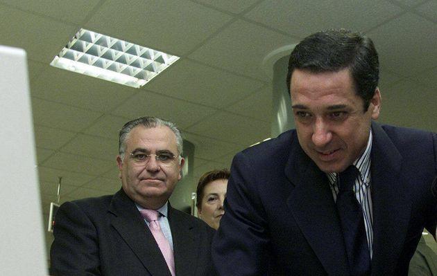Juan Cotino y Eduardo Zaplana, en