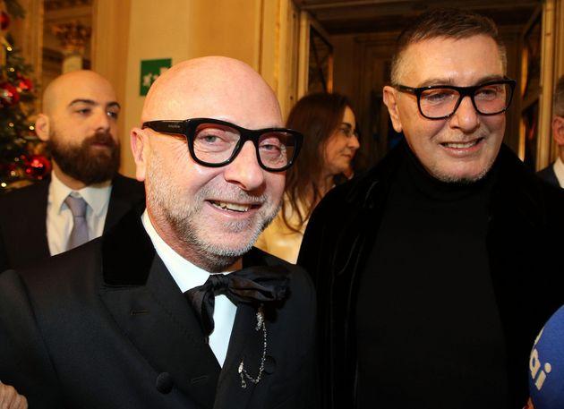 """Dolce e Gabbana: """"Dovevamo una donazione all"""