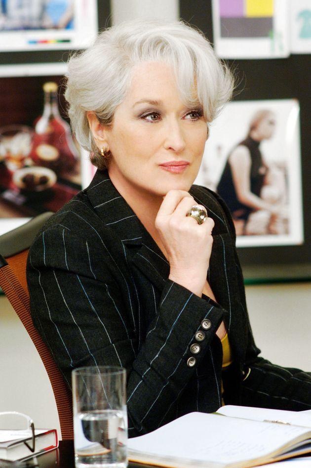 Sharon Osbourne's New Hair Is Giving Us Meryl Streep In The Devil Wears Prada Vibes