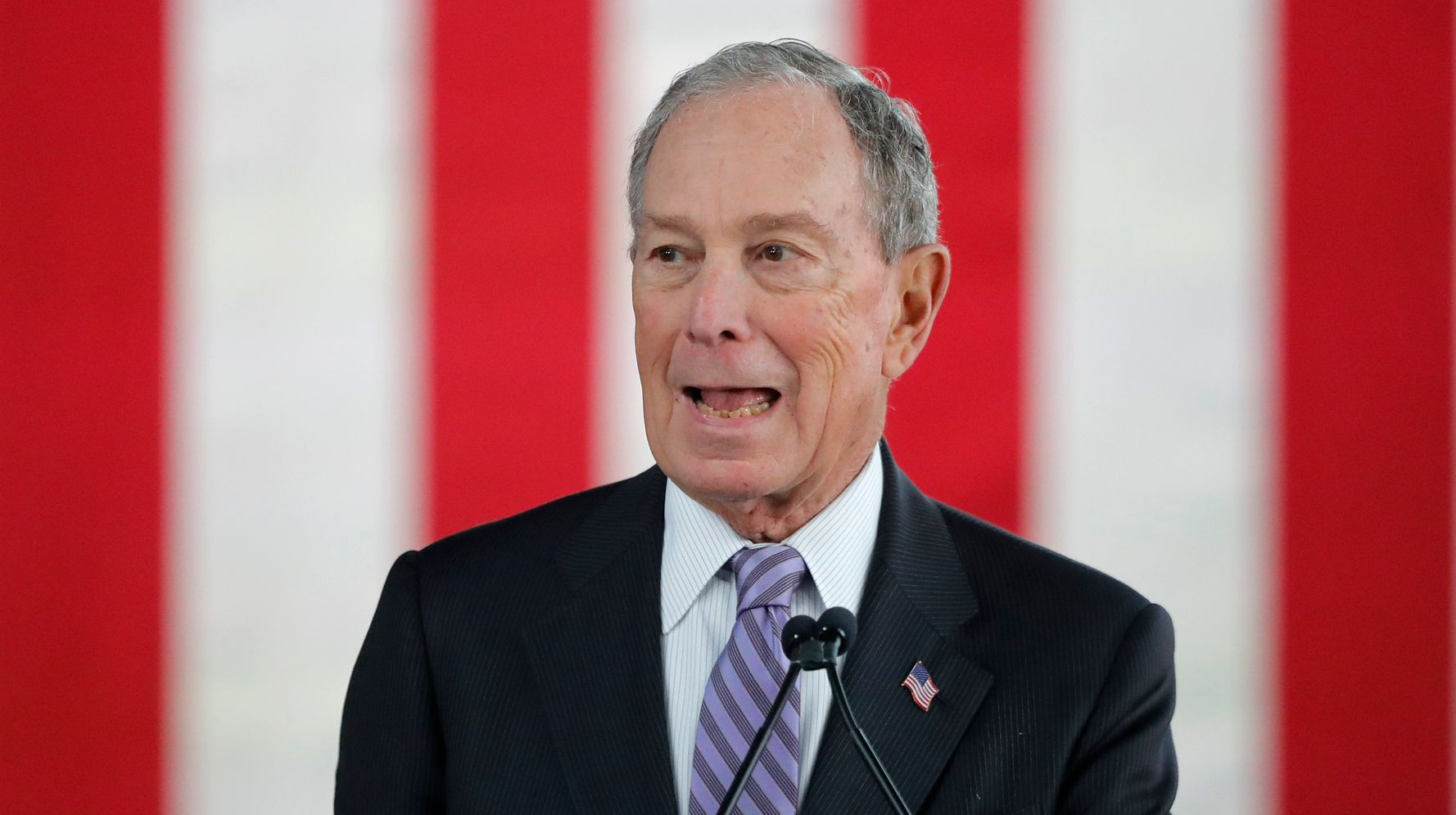 Westlake Legal Group 5e4bbf0d230000330039b49d Bloomberg Makes Debate Stage, Facing Democratic Rivals For 1st Time