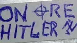 Ancora scritte e adesivi nazi a casa della figlia di un partigiano a