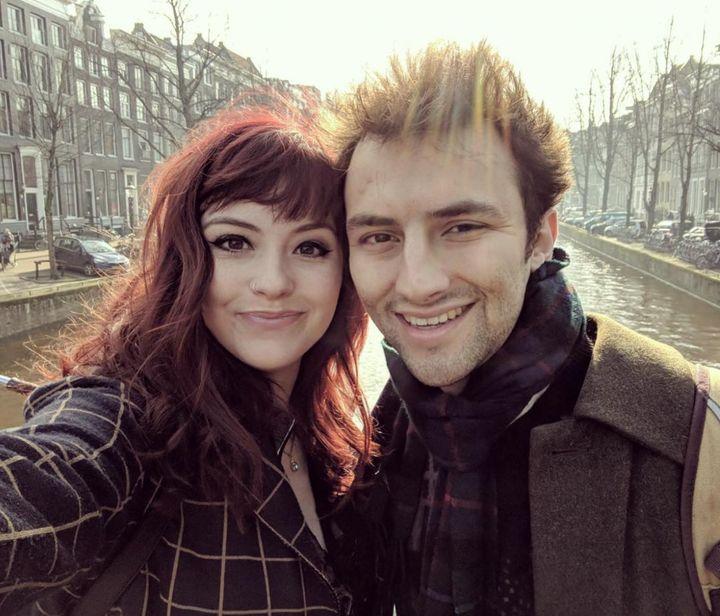 Charis and her partner Joseph.