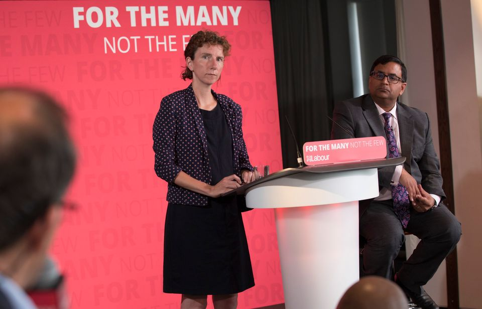 Anneliese Dodds is a shadow Treasury