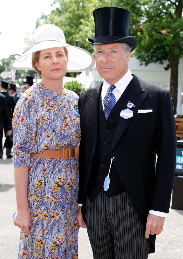 Serena, Countess of Snowdon and David, Earl of Snowdon on day 1 of the Royal Ascot on June 20, 2017 in Ascot, England.