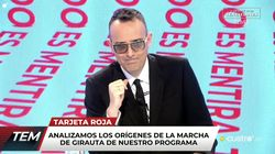 La condición para que Girauta vuelva a 'Todo es mentira' tras la polémica: