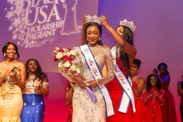 TeKema Balentine wins Miss Black USA in 2019.