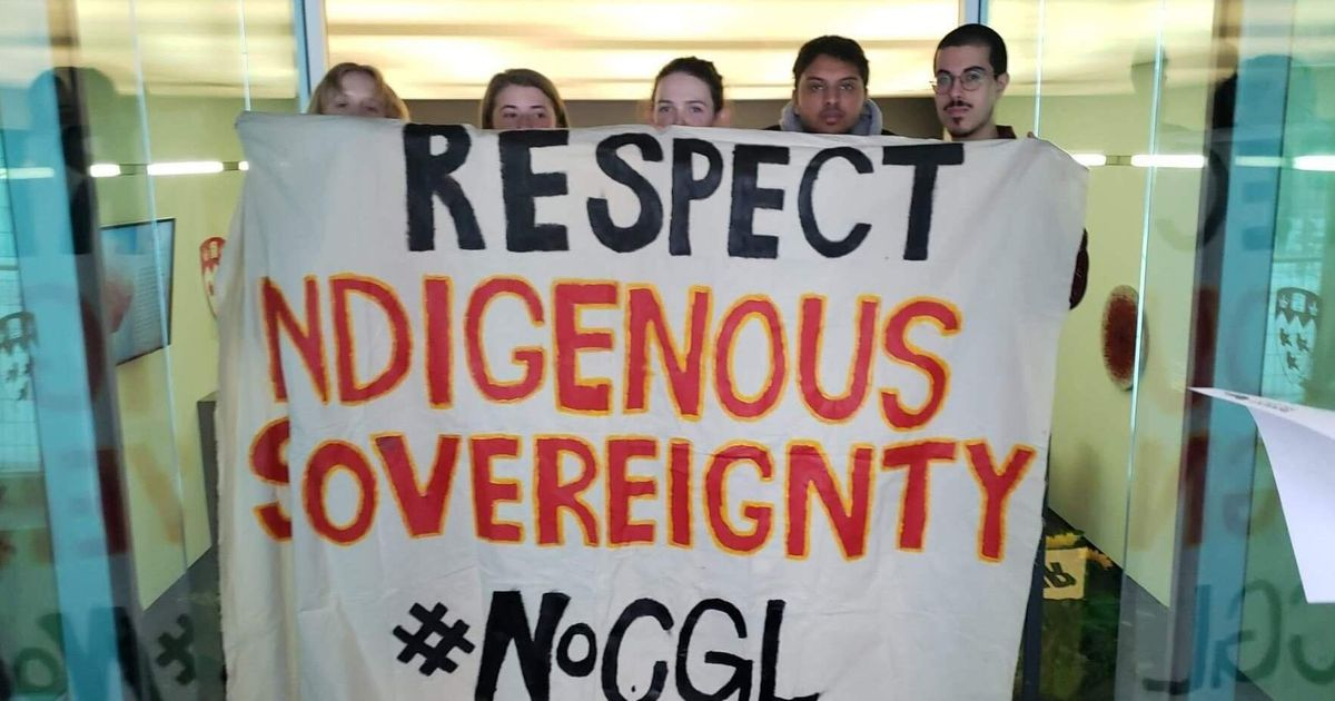 McGill Activists Occupy A Campus Building In Solidarity With Wet'suwet'en