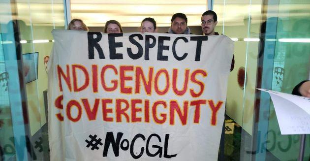 Le groupe Divest McGill occupe un bâtiment en solidarité avec les