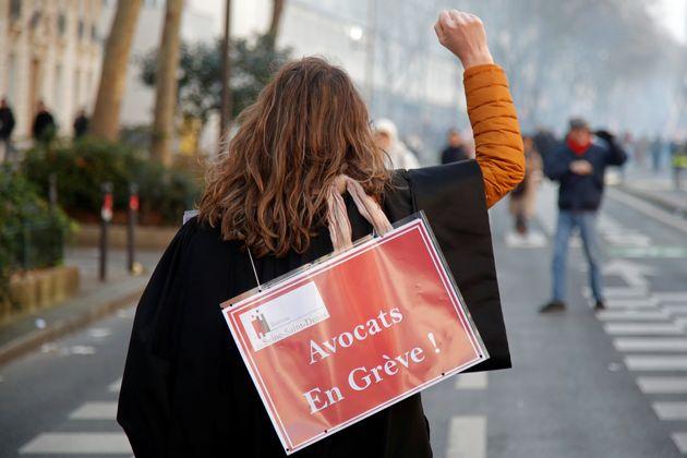 Depuis le début du mouvement de grève opposé à la réforme des retraites, les avocats font partie des...