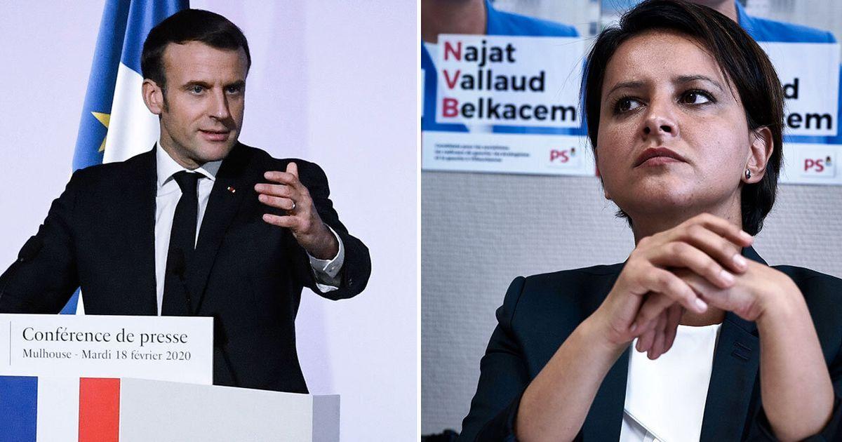 Najat Vallaud-Belkacem n'a pas du tout aimé les annonces de Macron sur les ELCO