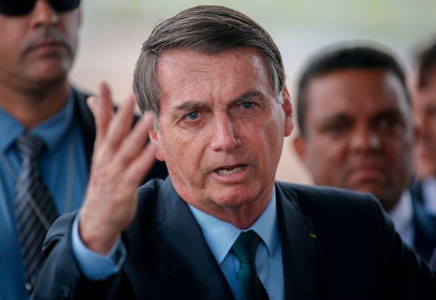 Irritado com a repercussão negativa da declaração, Bolsonaro disse que não...