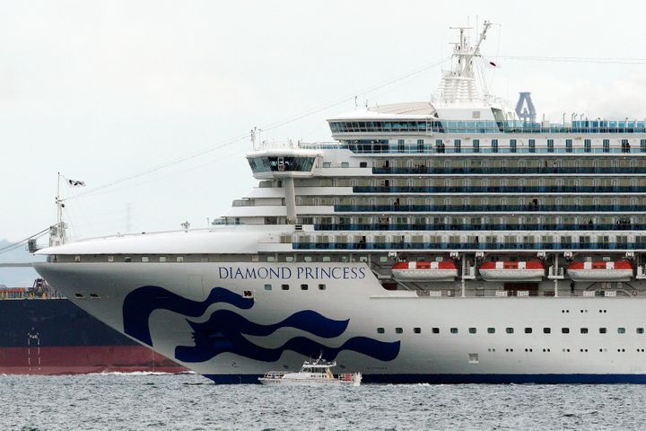 Japanese health officials are conducting extensive medical checks on all 3,700 passengers and crew of the cruise ship that returned to Japan after one passenger tested positive for the new coronavirus.