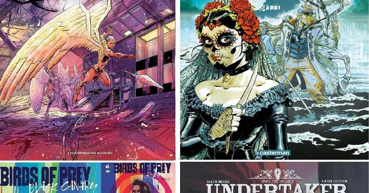 BLOG - Science-fiction, western ou super-héroïnes, 8 personnages de BD bien trempés