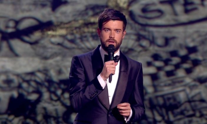 Jack Whitehall paid tribute to Caroline Flack at the Brits