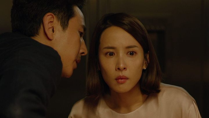 """Lee Sun-kyun and Cho Yeo-jeong star in """"Parasite."""""""