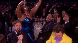 Lizzo And Harry Styles Didn't Win Any Brits, But They Still Delivered The Moment Of The