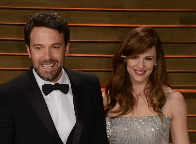 Ben Affleck and Jennifer Garner arrive at Vanity Fair's Oscar party in