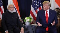 Trump Says 'We're Not Treated Very Well By India' But Is All Praise For