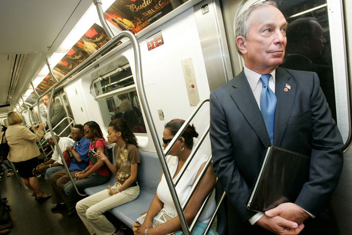 As New York City's mayor in 2003, Michael Bloomberg vetoed two bills by the city council expanding access to emergency contra
