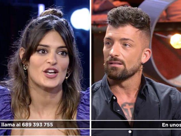Susana y Rubén, en el debate de 'La isla de las tentaciones' el 18 de febrero de