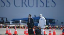 500 επιβάτες εγκαταλείπουν το κρουαζιερόπλοιο Diamond Princess - Έχουν εκδηλωθεί 540 κρούσματα