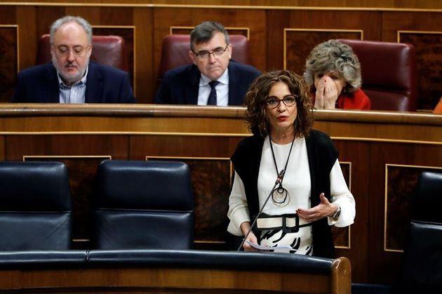 La ministra de Hacienda, María Jesús