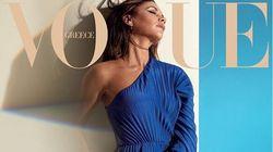 Η Βικτόρια Μπέκαμ αλά ελληνικά: Στη Vogue με Zeus + Dione της Μαρέβα