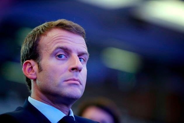 Emmanuel Macron, en un encuentro de la OCDE sobre multilateralismo, el 30 de mayo de 2018, en
