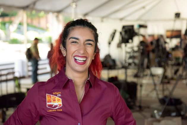 Farah Alibay grew up in Quebec and has worked at NASA for the past six