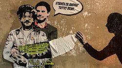 Il murales con Zaky e Regeni torna, e il suo messaggio è più forte di