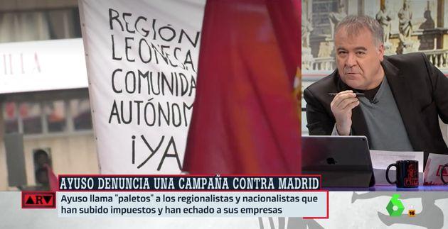 Ferreras en 'Al Rojo