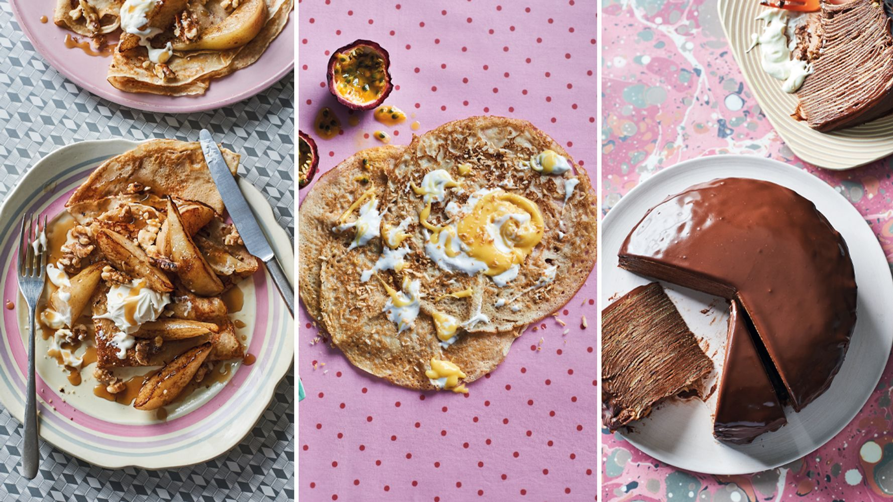 Sweet Enough To Eat: The Best Pancake Recipes - cover