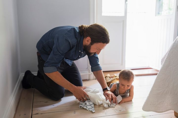 Babies who grow up in houses where lots of cleaning products are used have a higher risk of developing asthma, according to a new study.
