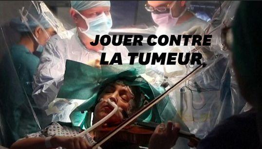 Pour sauver sa main, une violoniste joue pendant son opération du