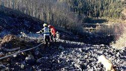 Equipos de rescate buscan con excavadoras a los dos desaparecidos de